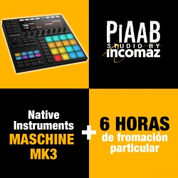 Native Instruments Maschine MK3 + 6 Horas de formación