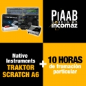 Native Instruments Traktor Scratch A6 + 10 Horas de formación
