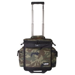 UDG Ultimate SlingBag Trolley DeLuxe Black Camo Orange Inside