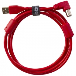 UDG Ultimate Audio Cable USB 2.0 A B Red Angled 1m