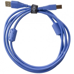 UDG Ultimate Audio Cable USB 2.0 A B Light Blue Straight 2m