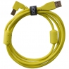 UDG Ultimate Audio Cable USB 2.0 A B Yellow Angled 2m