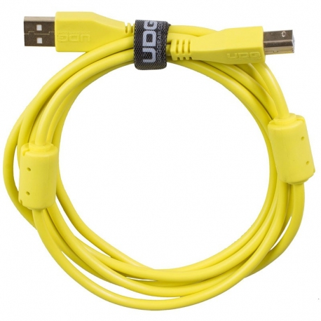 UDG Ultimate Audio Cable USB 2.0 A B Yellow Straight 1m