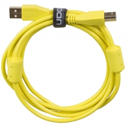 UDG Ultimate Audio Cable USB 2.0 A B Yellow Straight 2m