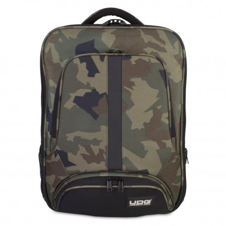 UDG Ultimate Backpack Slim Black Camo/ Orange Inside