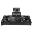 UDG Ultimate Flight Case Pioneer CDJ2000/ 900NXS2 Black MK2 Plus (Laptop Shelf + Wheels)