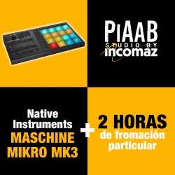Native Instruments Maschine Mikro MK3 + 2 Horas de formación