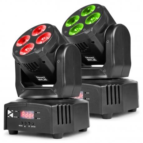 Beamz MHL36 Cabeza Movil Set