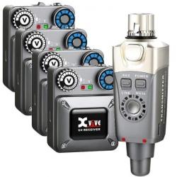 XVive U4 R4 (1 Emisor + 4 Receptores)