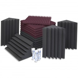 EZ Acoustics EZ Foam Acoustic Pack S Granate