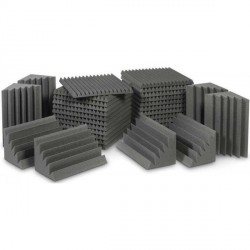EZ Acoustics EZ Foam Acoustic Pack M Gris