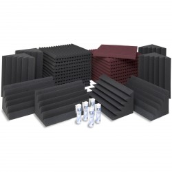 EZ Acoustics EZ Foam Acoustic Pack M Granate