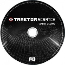 Native Instruments Traktor Scratch Control Disc MK2