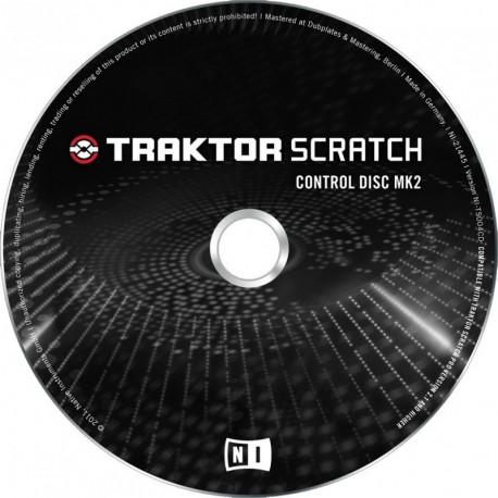 Native Instruments Traktor Scratch Control Disc MK2