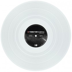 Native Instruments Vinilo Blanco MK2