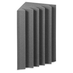 EZ Acoustics EZ Foam Bass Trap Gris (Pack 4)